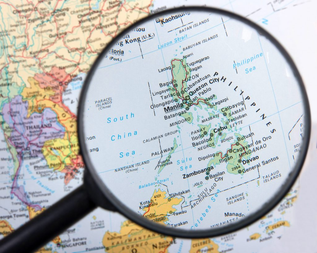 first timers travel guide philippines map