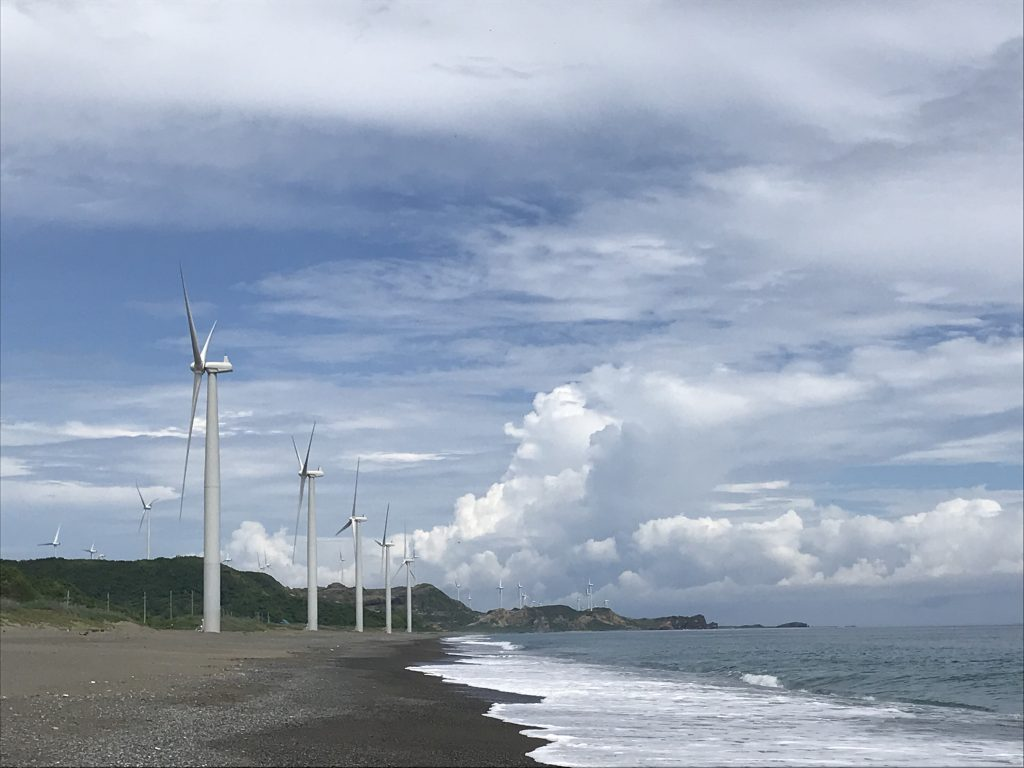 Bangui Windmill farm north luzon road trip