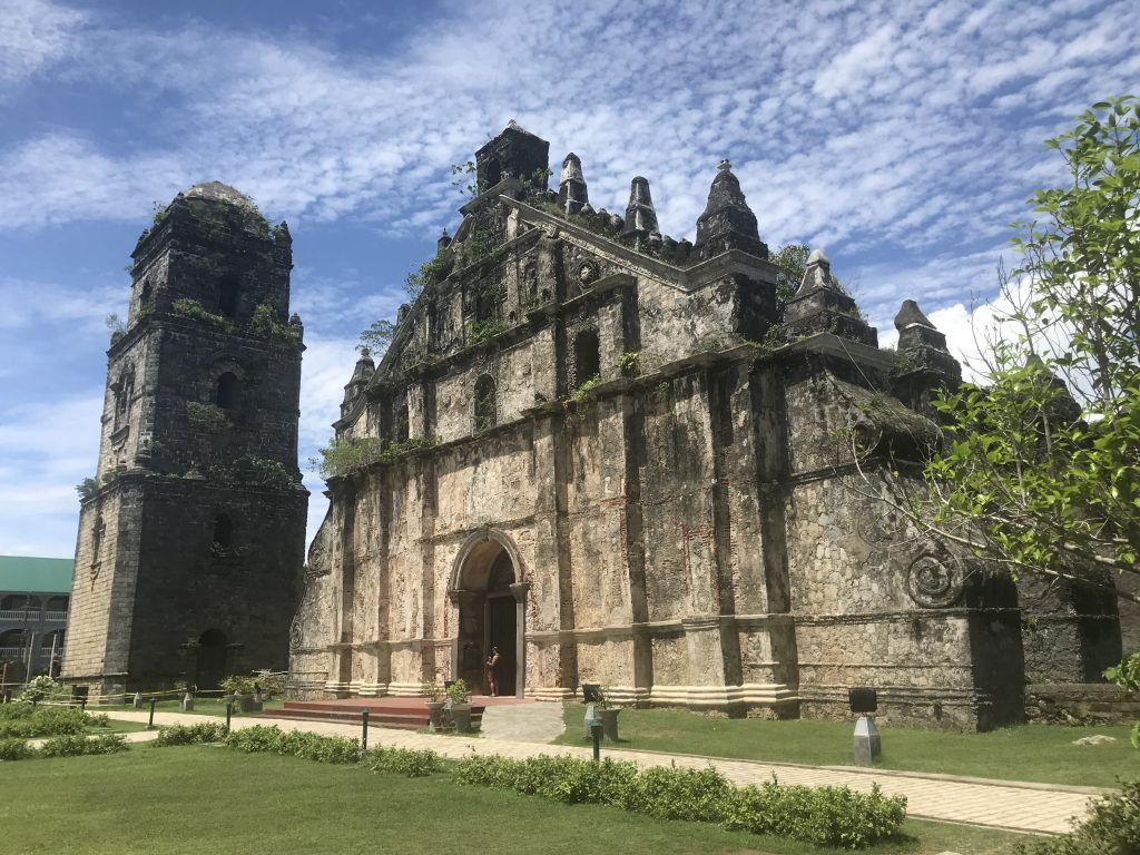 San Agustin Church Paoay north luzon road trip